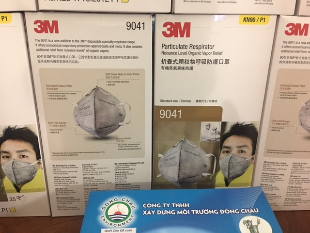 Khẩu Trang Phòng Virus Corona (2019-NCoV) 3M 9041