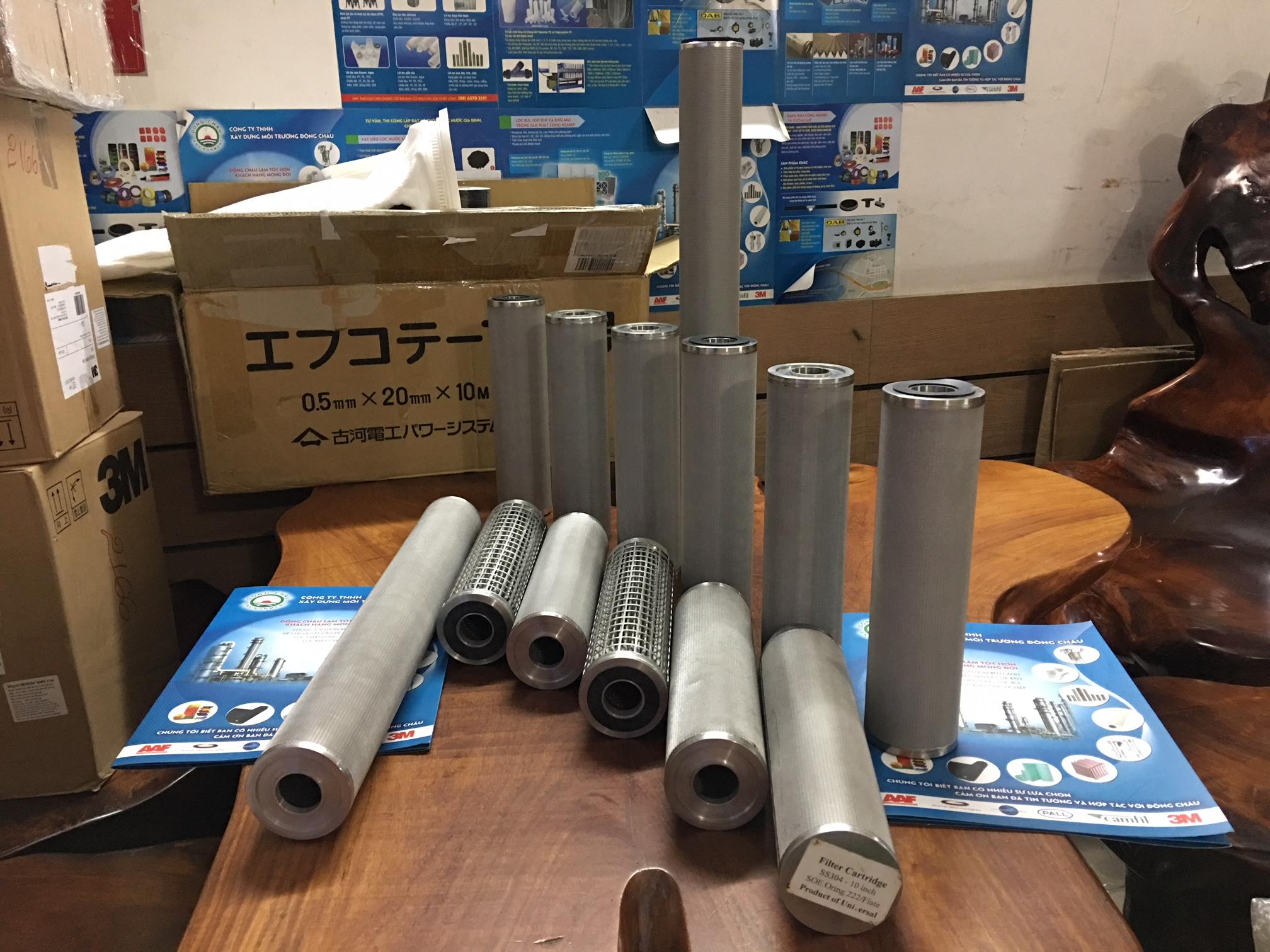 Lõi lọc inox 304 20 inch Universal