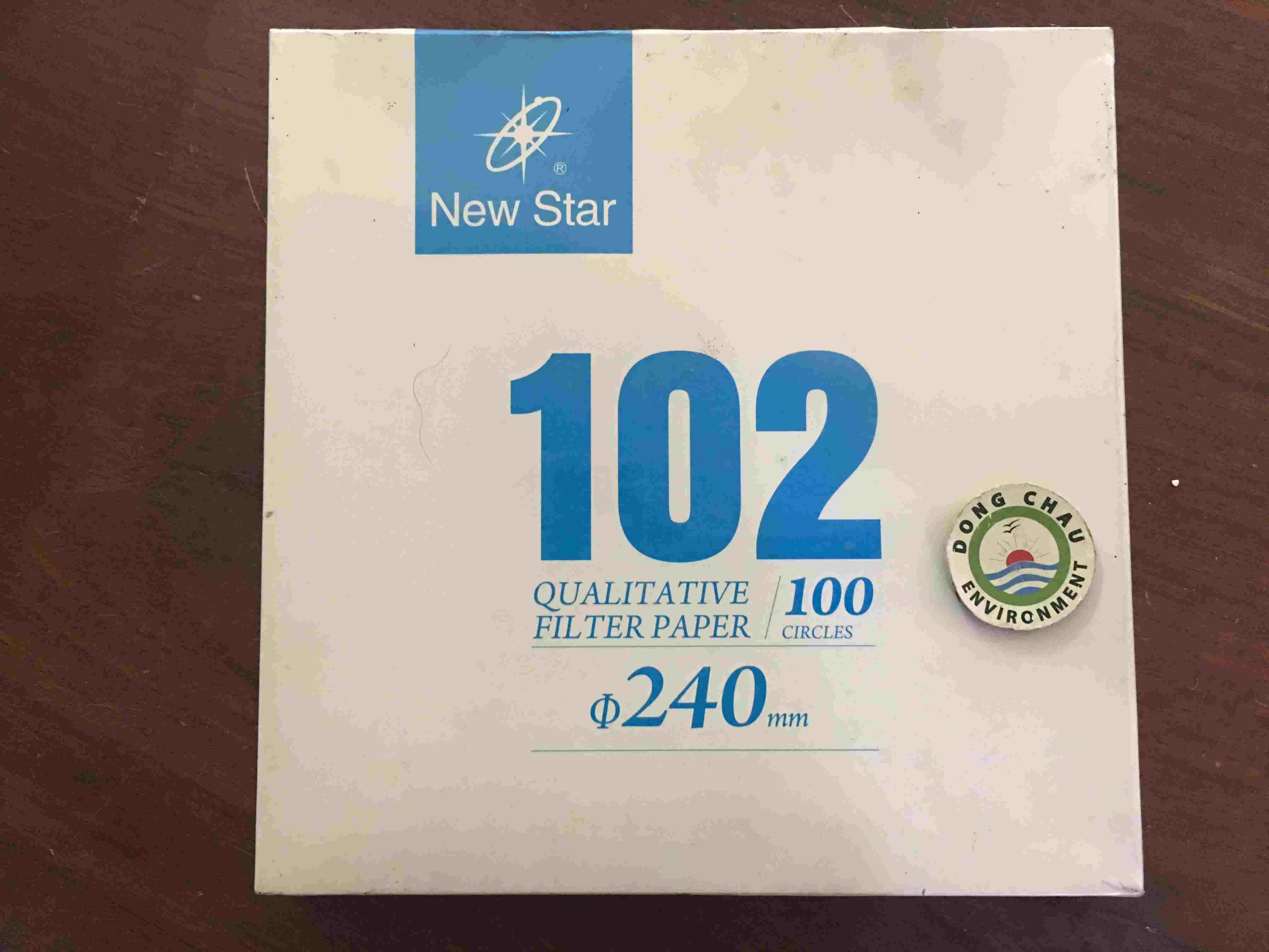 Giấy Lọc Phòng Thí Nghiệm Newstar 102 Đường Kính 240 Mm