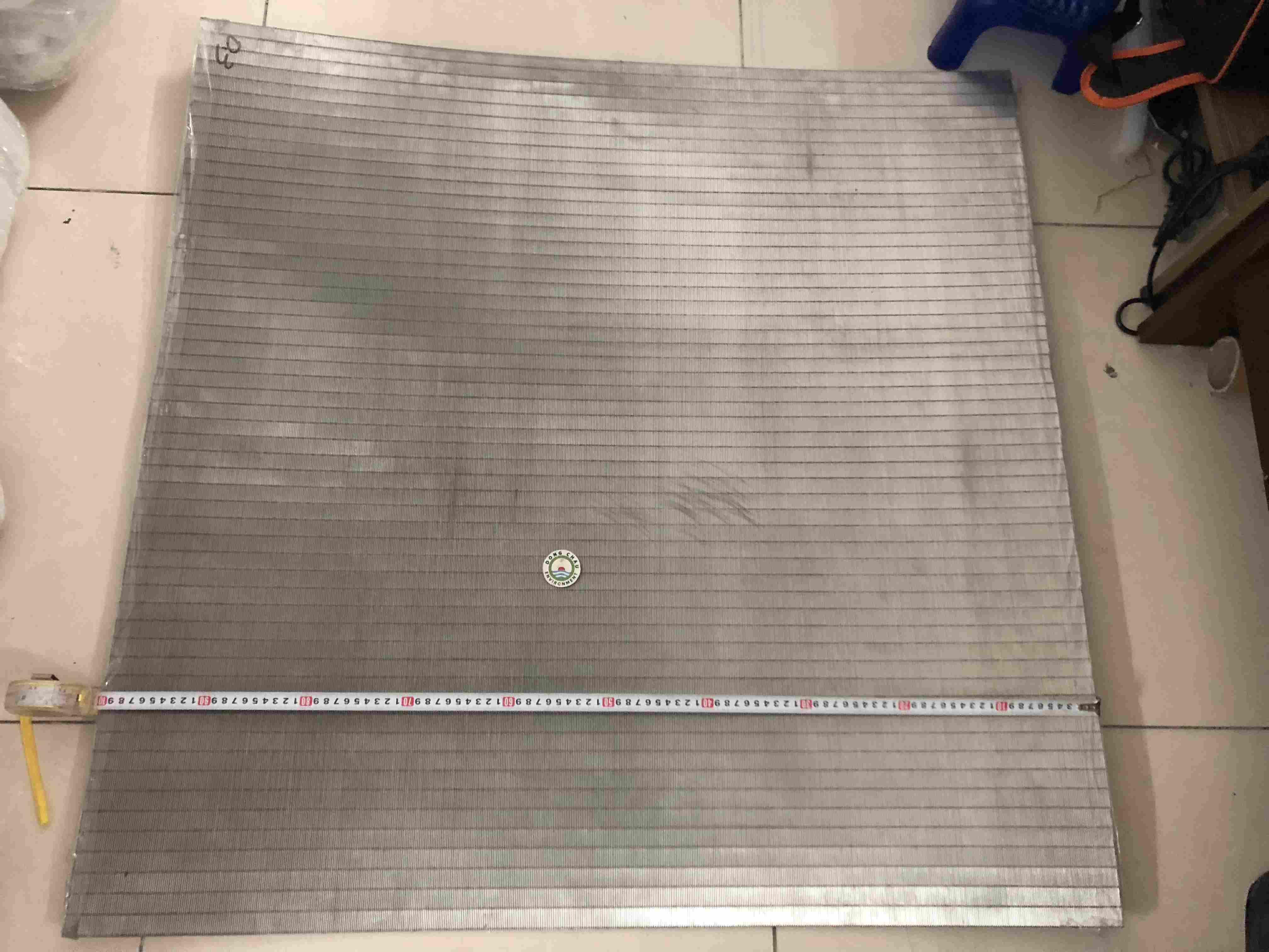 Tấm Lưới Johnson Khe 0.1mm 1m X 1m