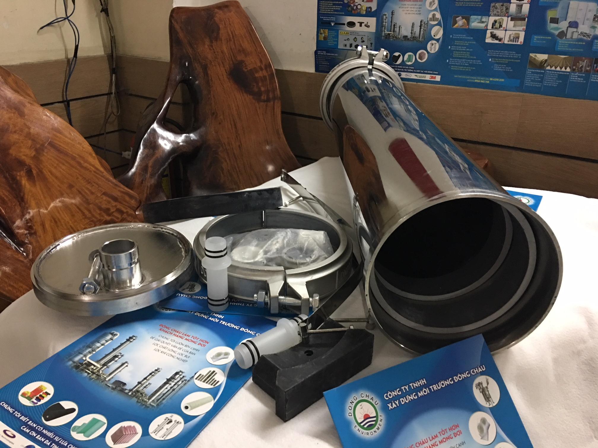 Vỏ Màng UF 8040 Inox 304 400 Psi