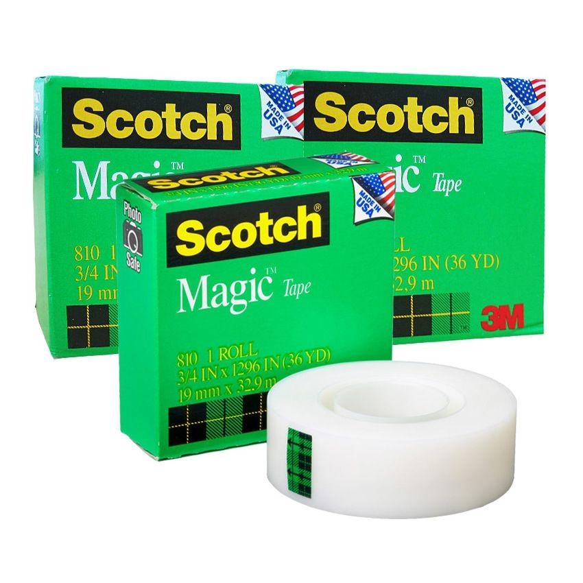 Băng keo 3M Magic 810, Băng keo kỳ diệu 3M 810 Scotch Magic Tape
