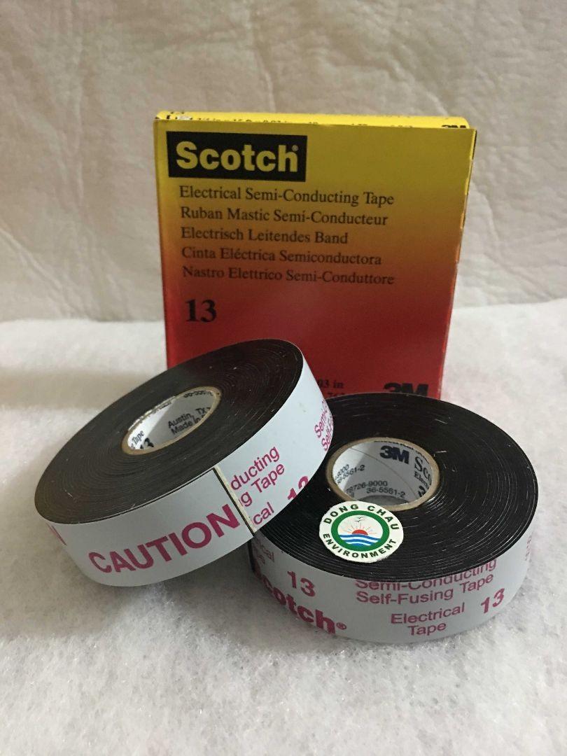 Băng keo cách điện 3M Scotch 13 dòng bán dẫn