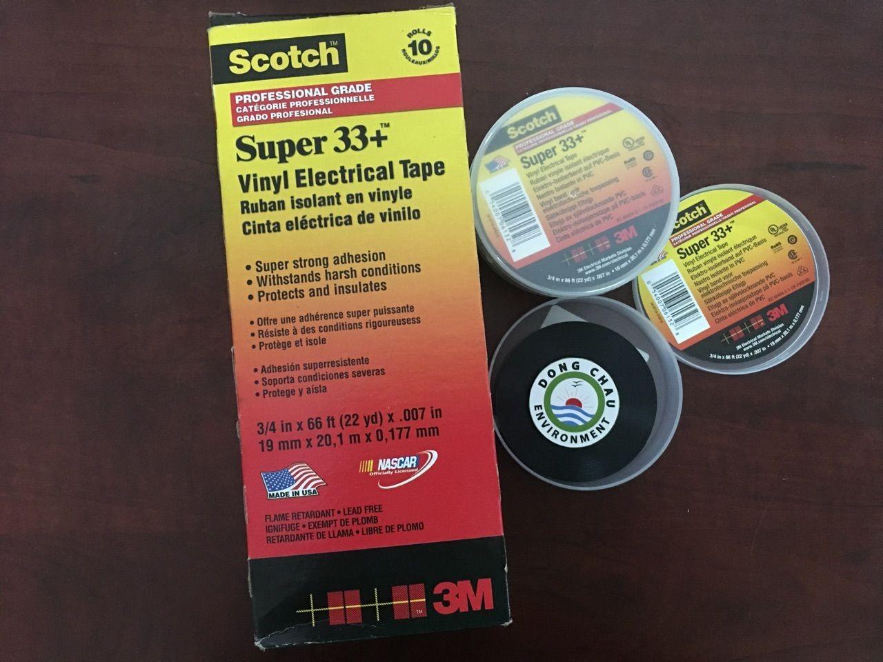 Băng keo cách điện 3M super 33+