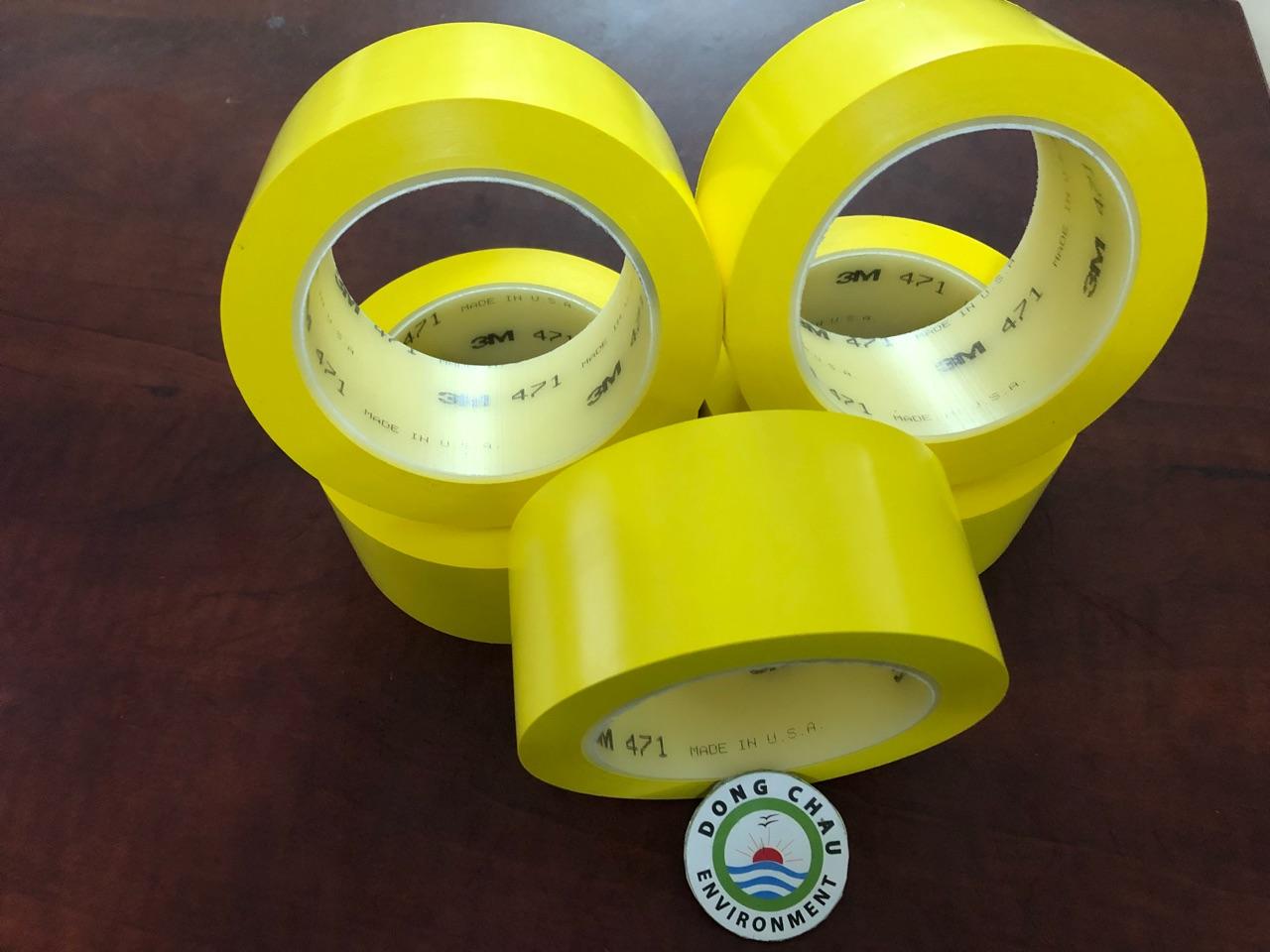 Băng Keo Dán Nền Màu Vàng 3M 471