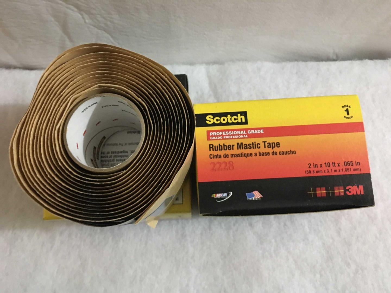 Băng keo cao su cách điện Mastic 3M Scotch 2228