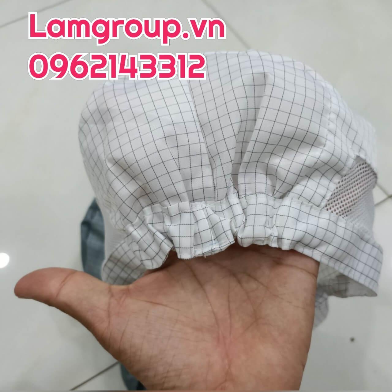 Nón chống tĩnh điện dùng trong phòng sạch