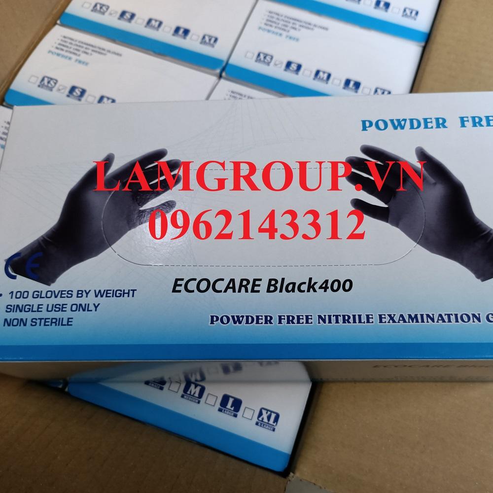 Găng tay y tế ngành nail phụ liệu tóc màu đen