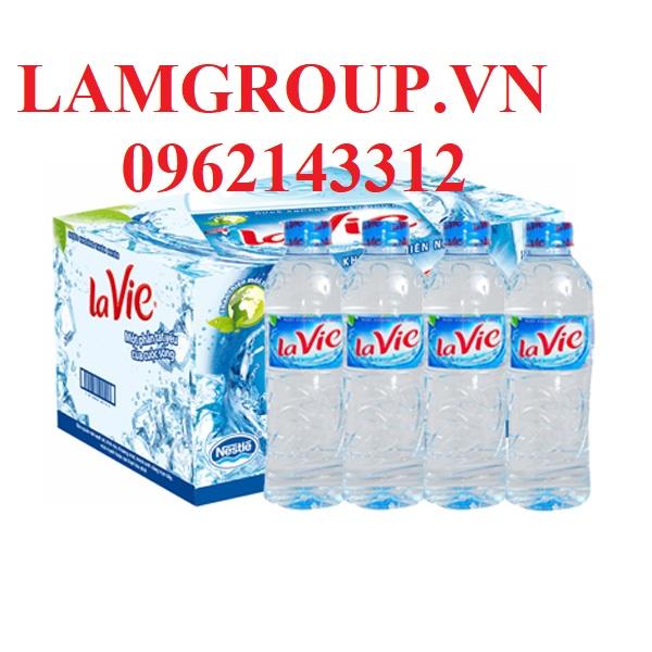 Nước Khoáng tinh khiết Lavie chai 350ml