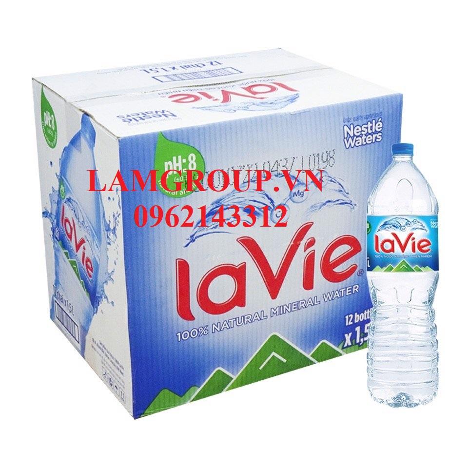 Nước Khoáng tinh khiết Lavie chai 500ml