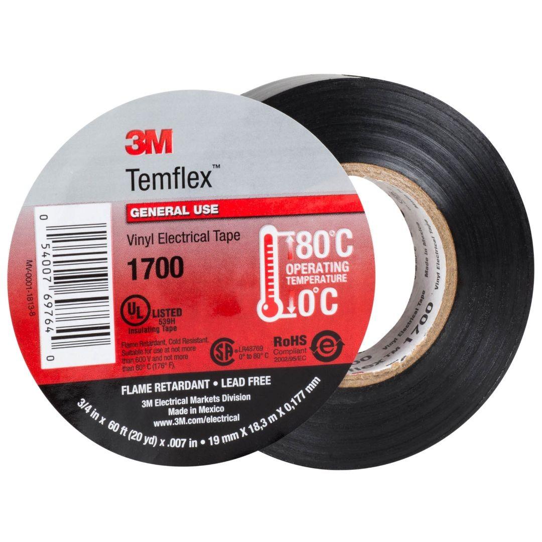 Băng keo cách điện 3M Vinyl Temflex 1700