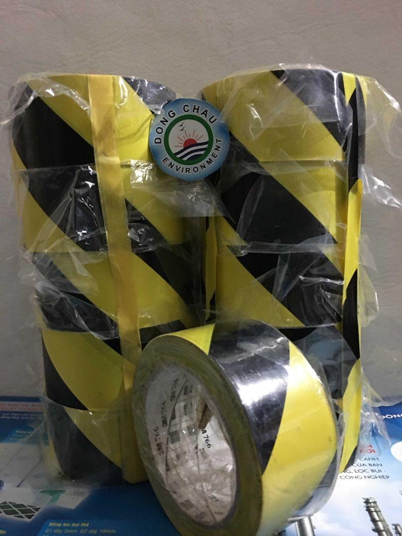 Băng keo 3M 1 mặt cảnh báo Vinyl 766
