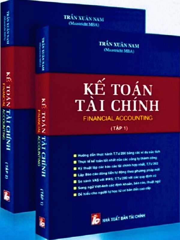 Bộ Sách Kế Toán Tài Chính (Tập 1 & 2)