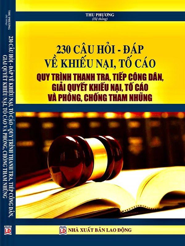 Hỏi đáp về luật tiếp công dân Quy trình giải quyết khiếu nại tố cáo