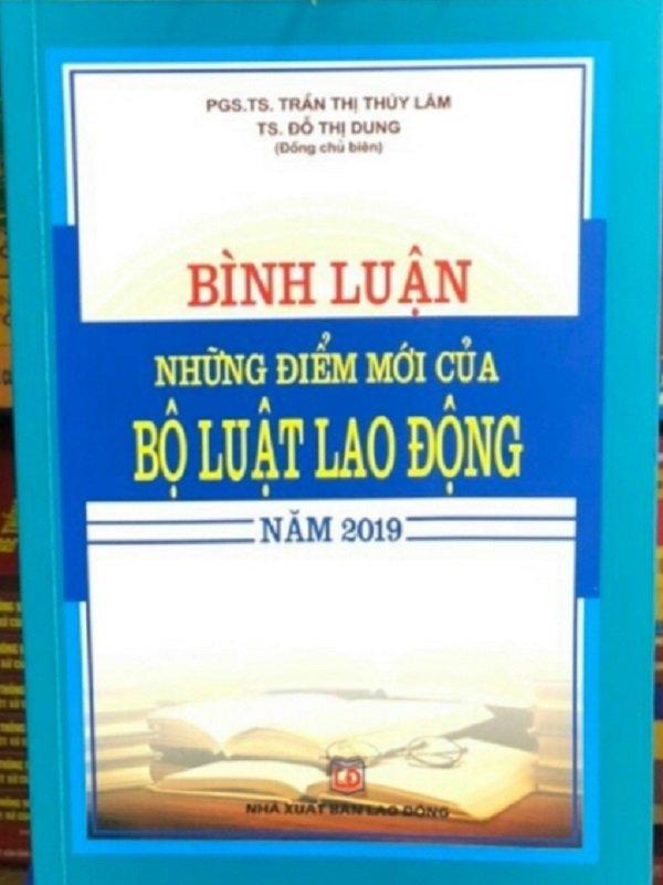 Bình luận những điểm mới của bộ luật Lao Động 2019
