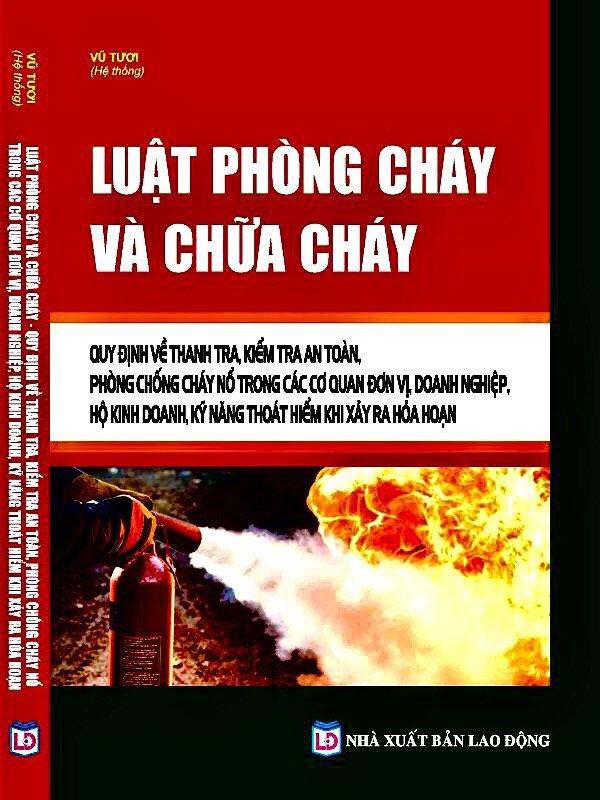 Cẩm nang công tác phòng cháy chữa cháy -  Sách chính trị tài Chính
