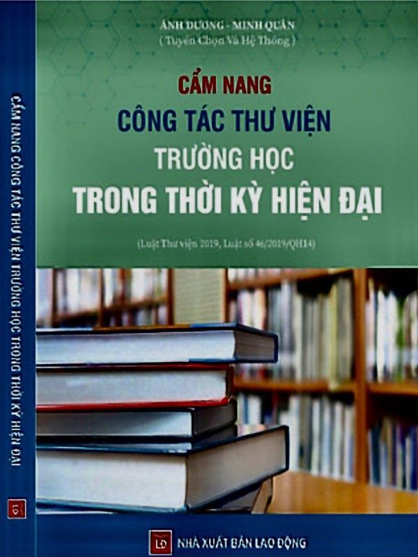 Cẩm nang công tác thư viện trường học - Nhà sách chính trị tài Chính