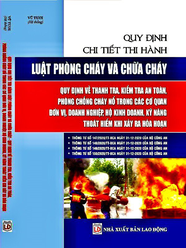 Sách Quy chuẩn kỹ thuật quốc gia về an toàn cháy nổ - Sách Pháp Luật