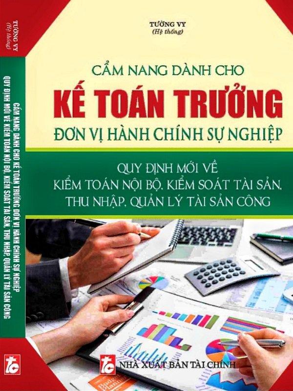 Sách cẩm nang dành cho kế toán trưởng giảm giá 35% có VAT - Freeship