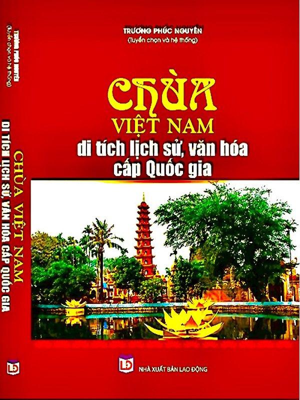 Sách Di tích lịch sử Chùa Việt Nam văn hóa truyền thống tâm linh Việt