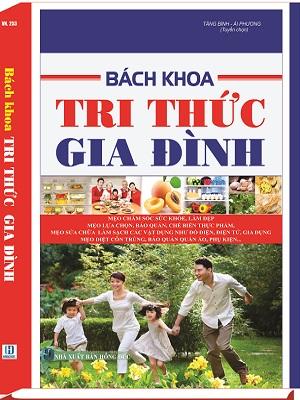 Sách giáo dục phân phối sách bach khoa tri thức gia đình giá rẻ