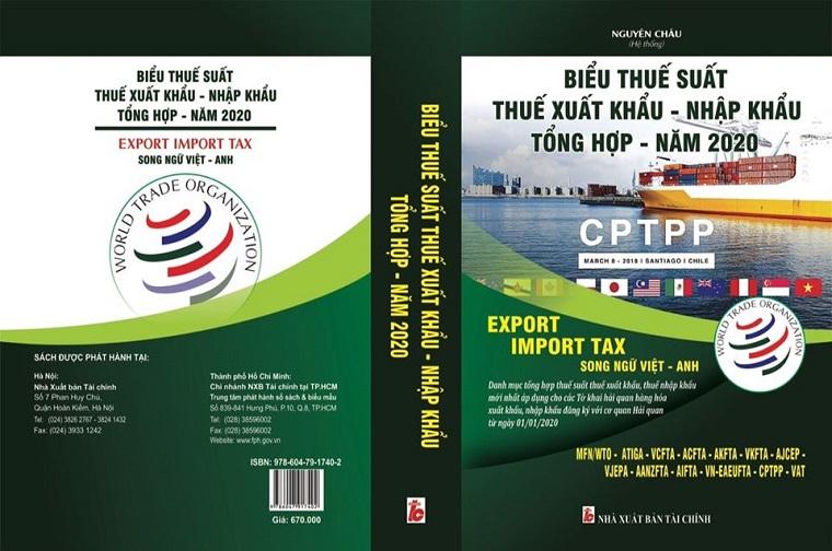 Biểu Thuế Xuất Nhập Khẩu 2020 Song Ngữ Việt Anh
