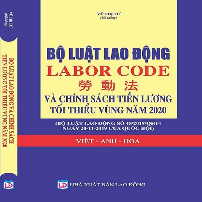 Bộ Luật Lao Động Tam Ngữ Anh - Hoa - Việt Giá Rẻ Tại Bình Dương