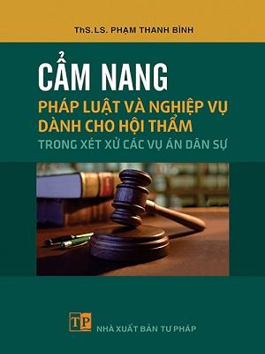 Cẩm nang pháp luật và nghiệp vụ dành cho Hội thẩm giá rẻ uy tín online