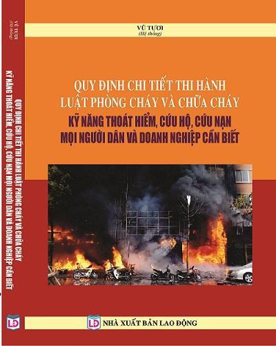 Luật Phòng cháy và chữa cháy 2019 văn bản hướng dẫn thi hành