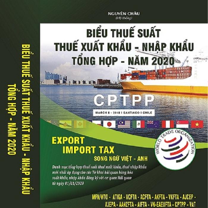 Sách Biểu Thuế Xuất Nhập Khẩu Bản Song Ngữ 2020 giá rẻ Tỉnh Bắc Ninh