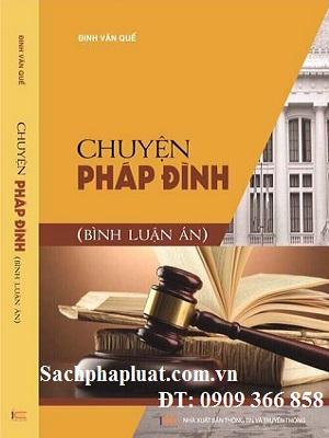 Sách Chuyện pháp đình Bình luận án