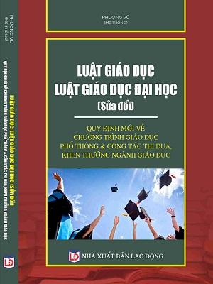 Bán Sách giáo dục sách luật giáo dục đại học sách online giá rẻ uy tín