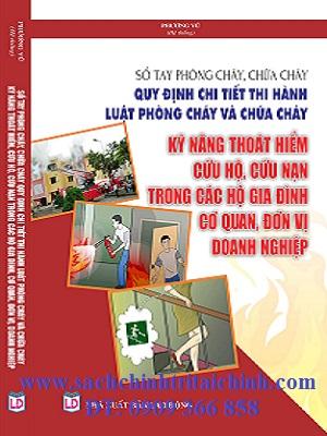 Bán Sách kỹ năng phòng cháy chữa cháy sách online giá rẻ uy tín Hà Nội