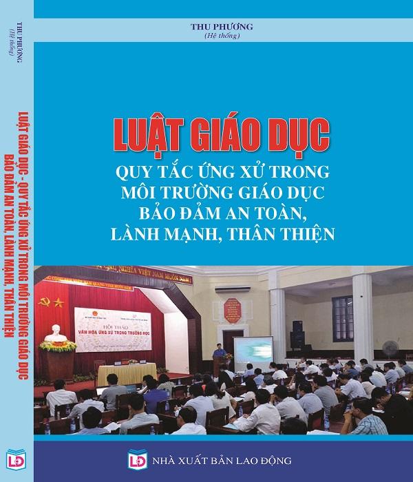 Sách luật giáo dục quy tắc ứng xử trong môi trường giáo dục