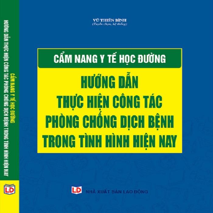 Sách Pháp Luật Cẩm Nang Y Tế Học Đường