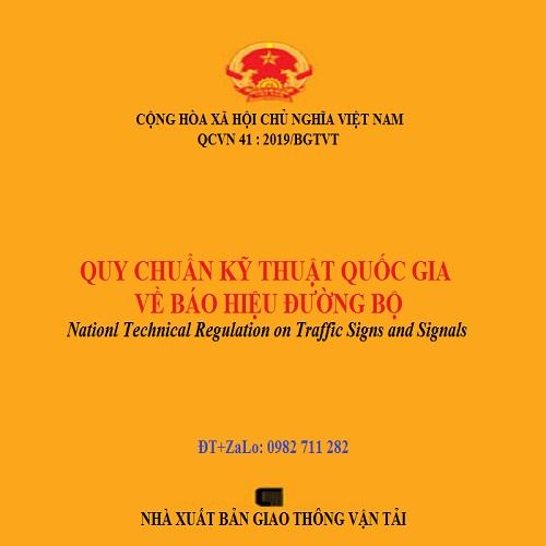 Sách Quy Chuẩn Kỹ Thuật Quốc Gia QCVN 41 : 2019/BGTVT