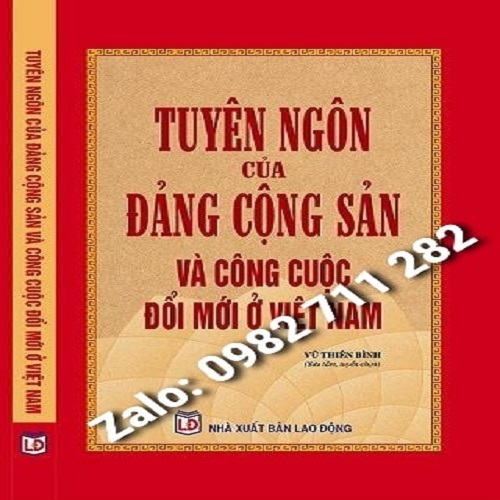 Sách Tuyên Ngôn Của Đảng Cộng Sản Việt Nam