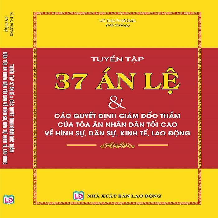 Sách Tuyển Tập 37 Án Lệ Việt Nam giá rẻ tại TP. HCM