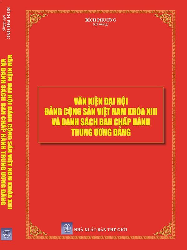 Điều lệ văn kiện đại hội đảng cộng sản việt nam khóa XIII