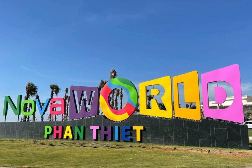 Thuê xe đi nova world Phan Thiết