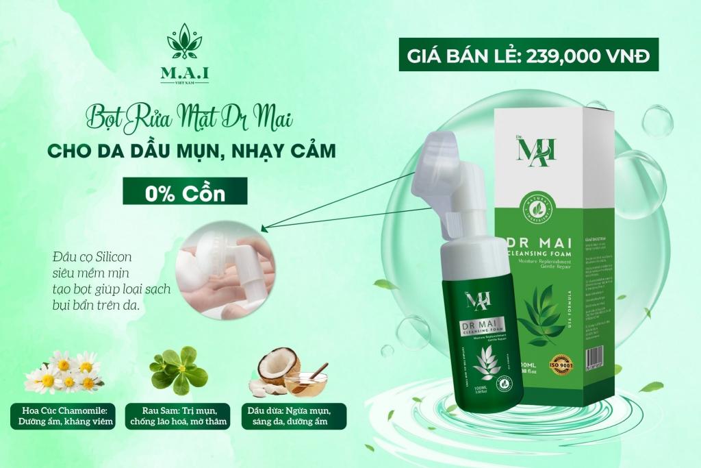 Sữa rửa mặt Dr Mai 2021 - Dr Mai Cleansing Foam