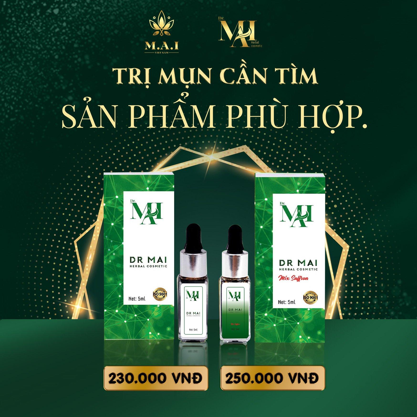 Dr Mai Mix Saffron - Mai Thảo Mộc Mix V2