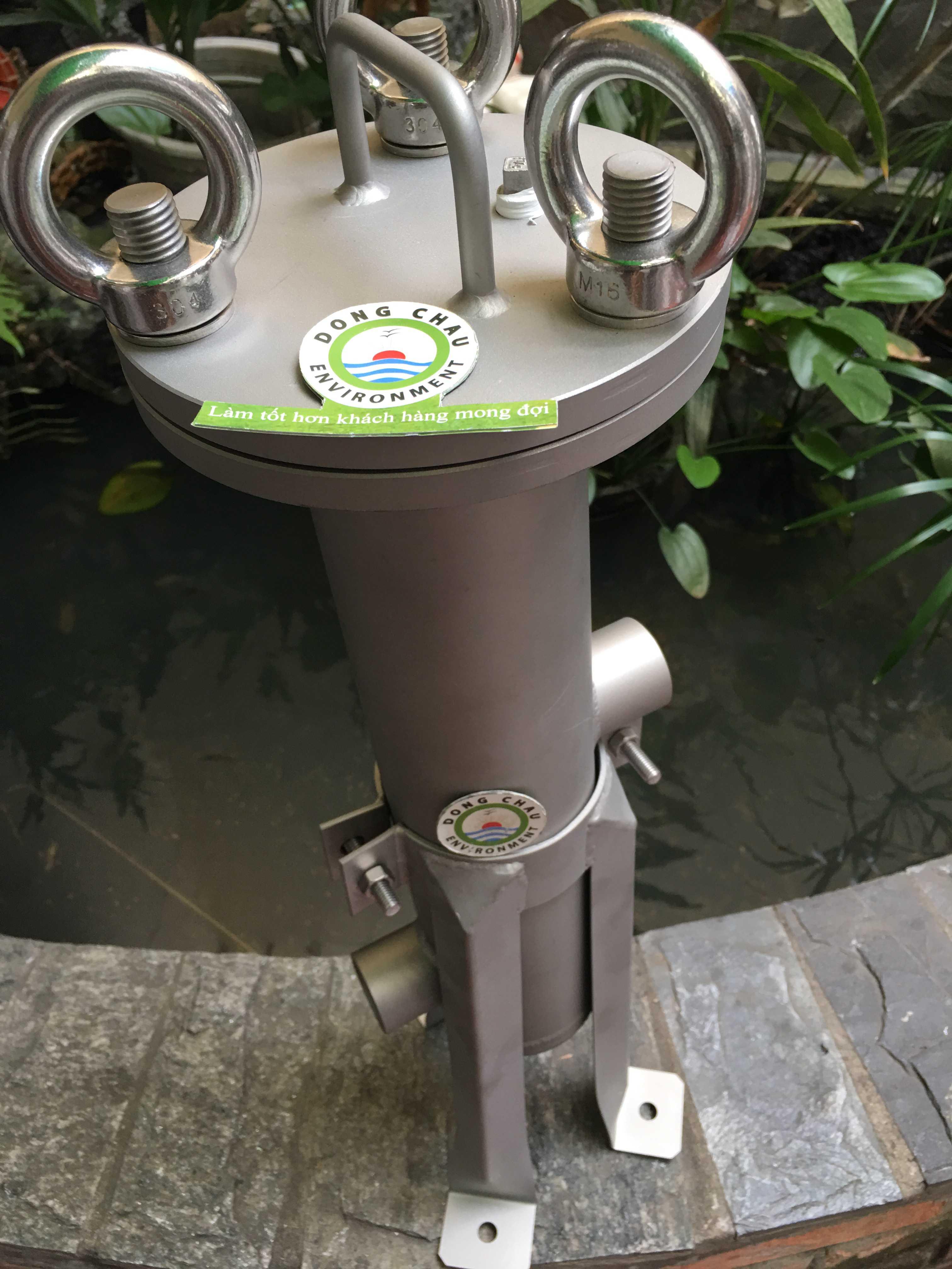 Bình lọc 1 lõi 10 inch singapore doe