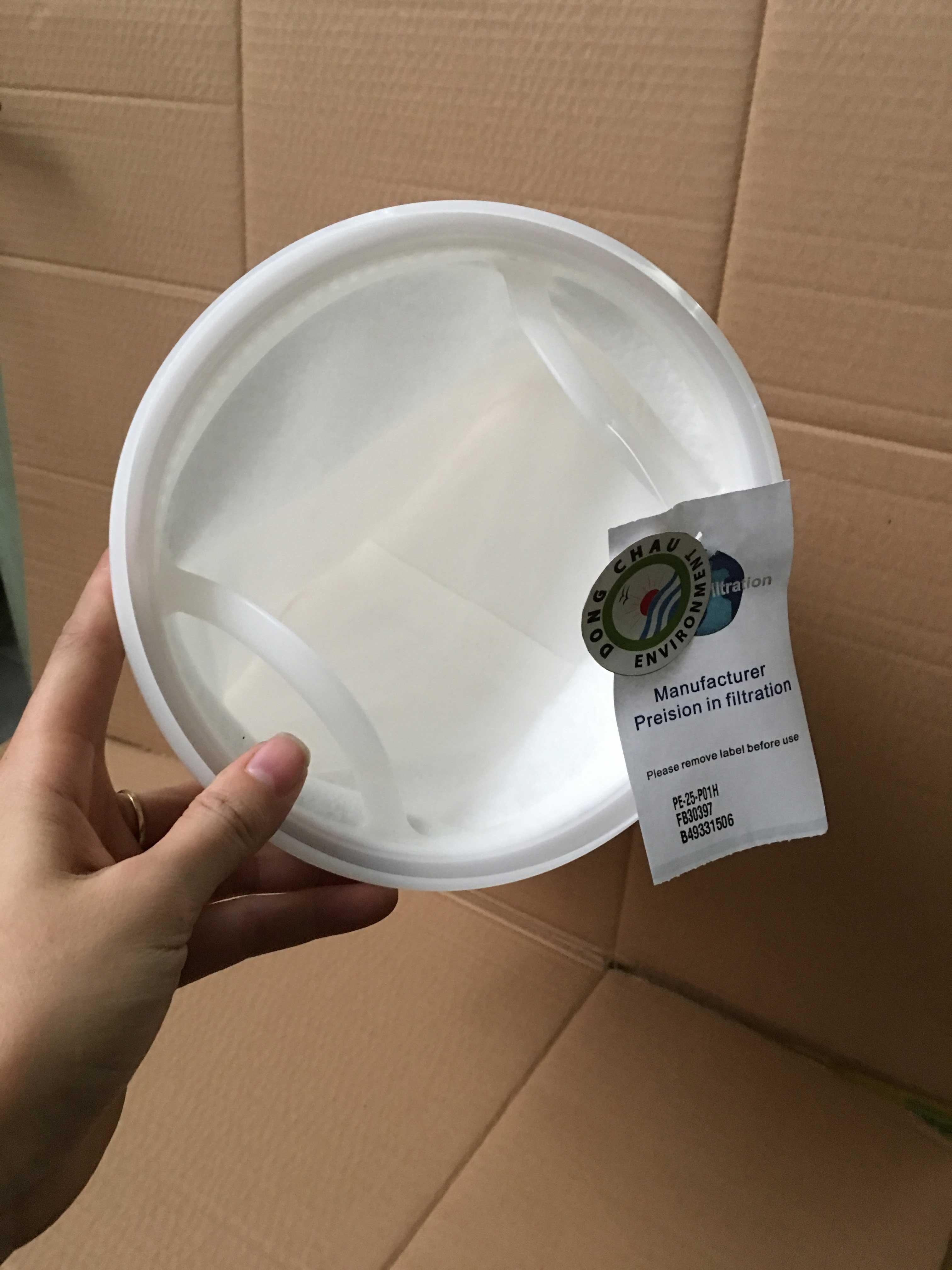 Túi lọc chất lỏng pe 25 micron size 1