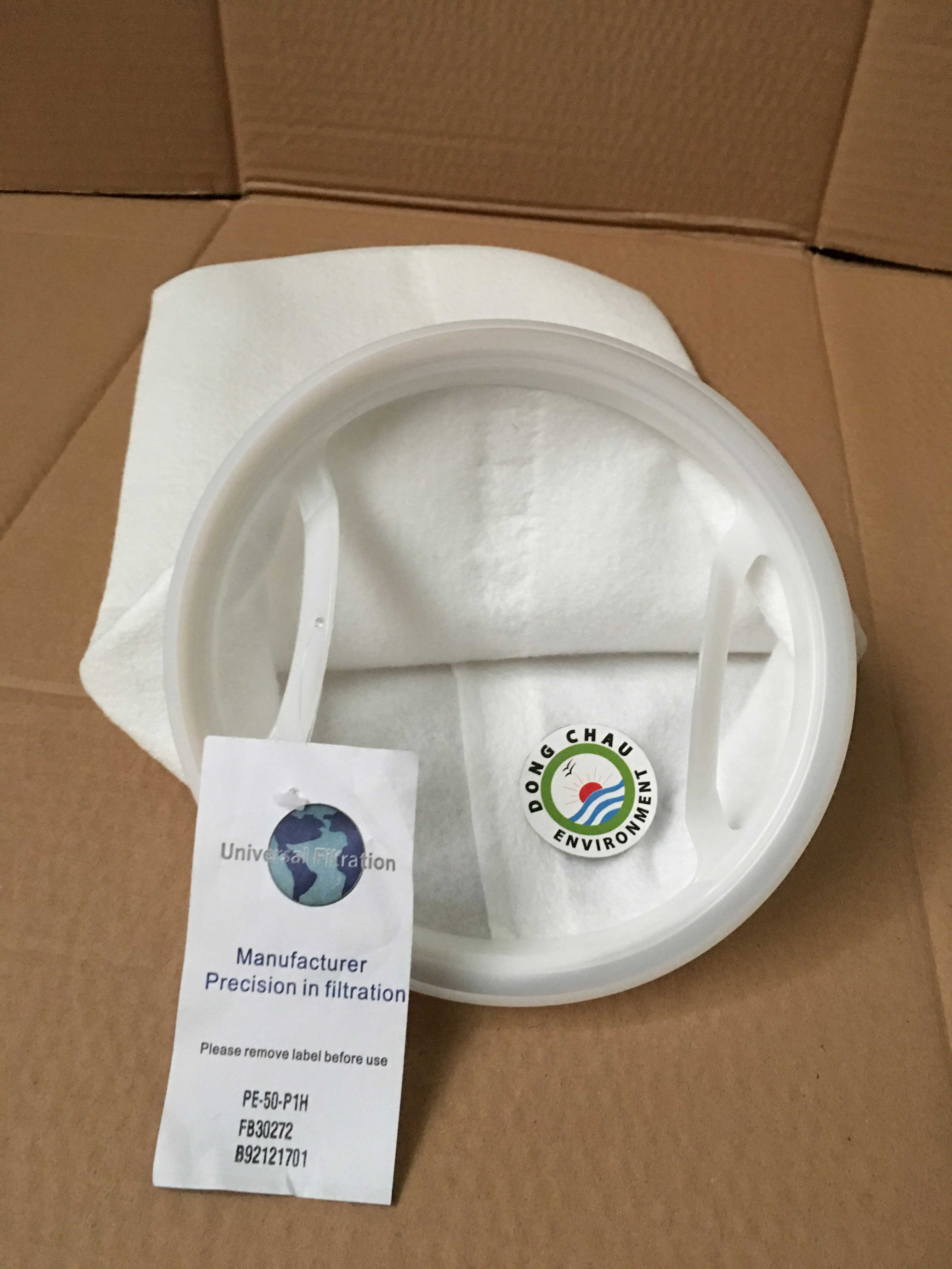 Túi lọc PE 50 micron size 1