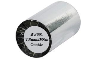 Mực in tem nhãn mã vạch Wax BW001 110mmx300m