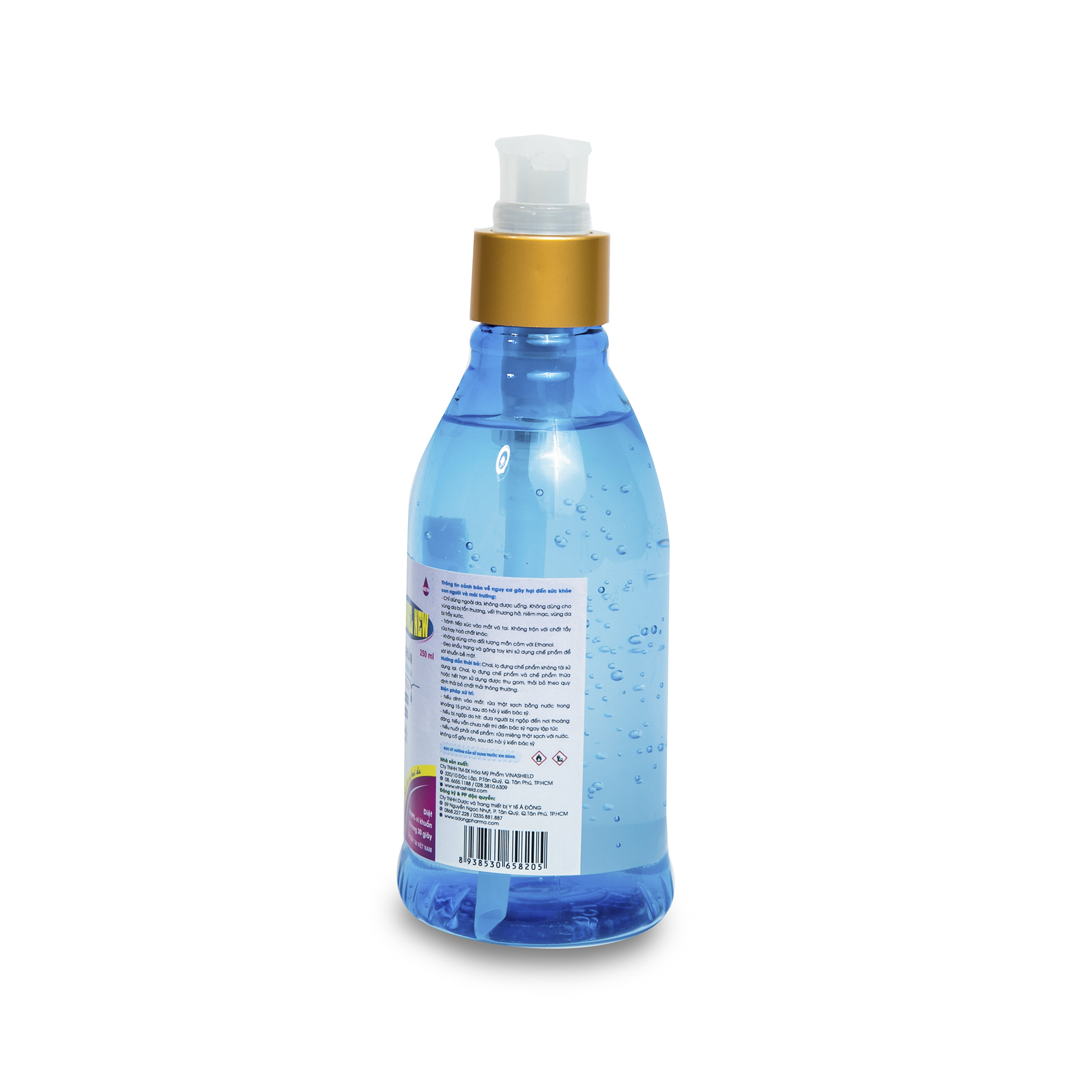 DD sát khuẩn tay nhanh CLEANWEL NEW 250 ml