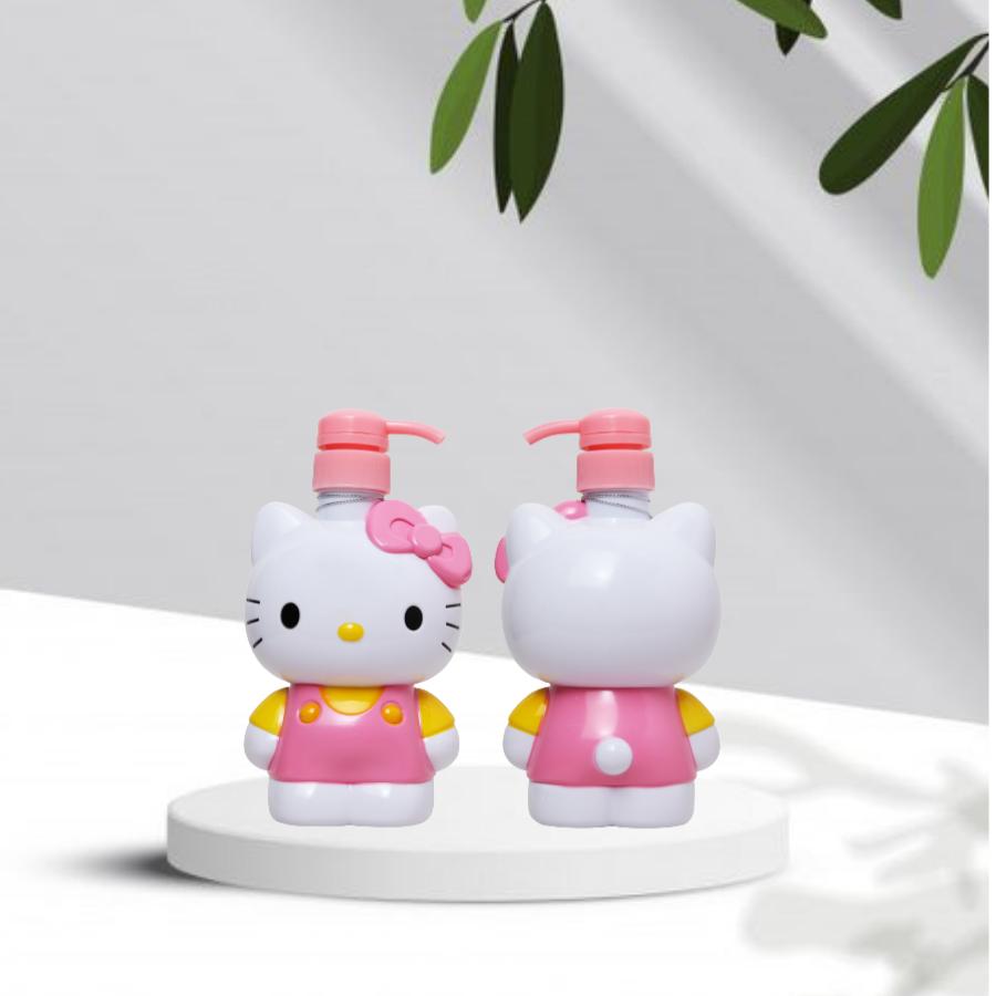 DD sát khuẩn tay nhanh CLEANWEL NEW 500 ml Hello Kitty