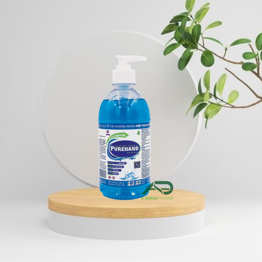 Dung dịch tắm - sát khuẩn tay PUREHAND 500 ml