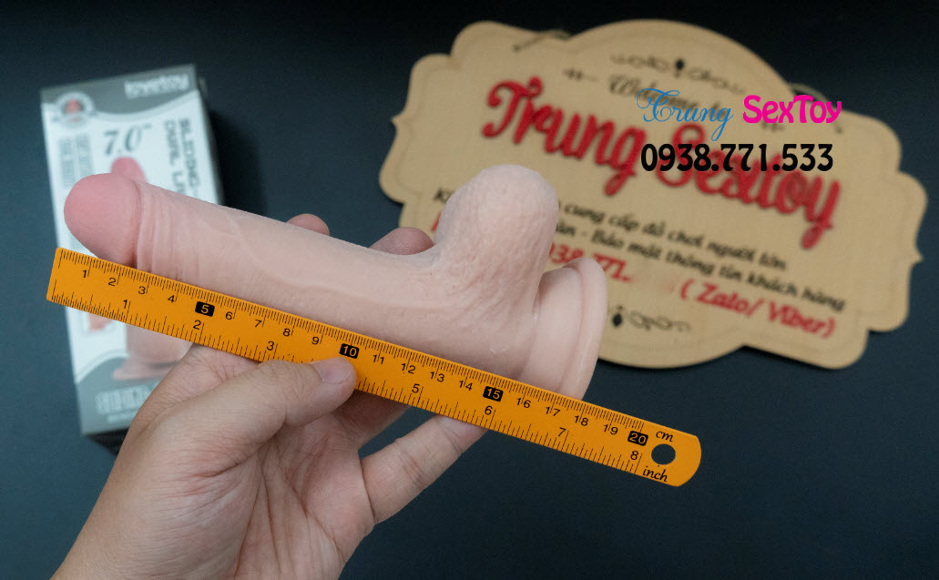 Dương Vật Giả Skin Dual TPE 2 Lớp Có Thế Uốn Cong Dễ Dàng